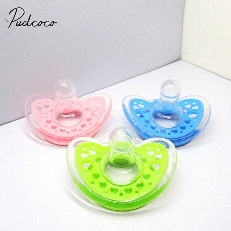 Newborn Kids Baby Orthodontic Dummy Pacifier Silicone Teat Nipple Soother LY