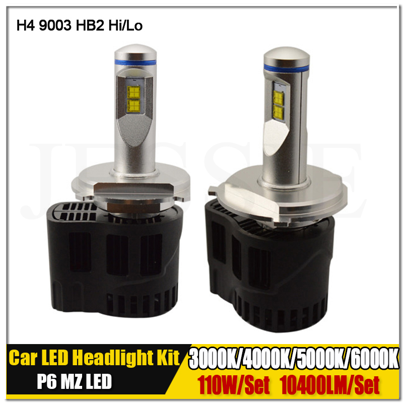 2016 Newest Car LED H4 9003 HB2 High Low Beam Headlight Auto Fog Drving Lamp 110W 10400 Lumen Conversion Kit 12V 24V 30V 6th 80w led headlight conversion kit h4 9003 hb2 led bulbs high low beam super bright lamp