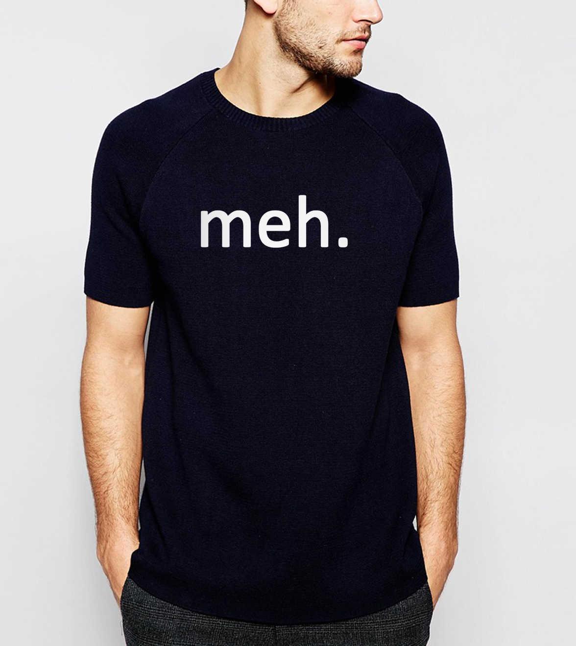 뜨거운 판매 2019 여름 meh 인터넷 괴짜 괴상한 재미 있은 남자 t 셔츠 캐주얼 hipster 100% 코 튼 고품질 streetwear 셔츠 S-3XL