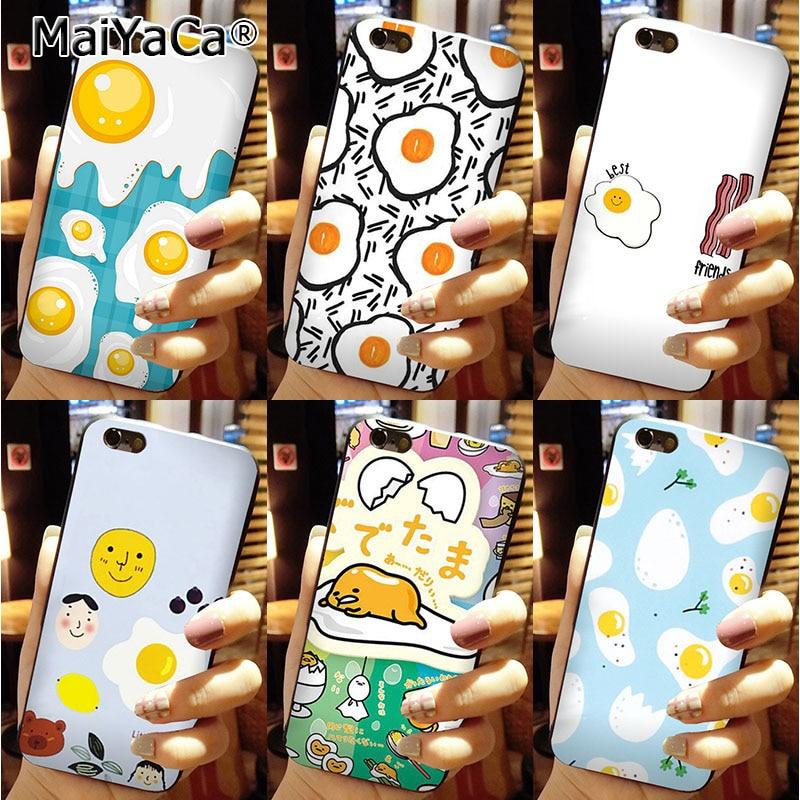 MaiYaCa silicone black soft phone <font><b>Case</b></font> <font><b>Gudetama</b></font> Fried Eggs For <font><b>iPhone</b></font> 6 6s <font><b>Case</b></font>