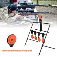 5 Plate Reset Shooting Target Tactical Metal Steel Slingshot BB gun Airsoft Paintball Archery Hunting Outdoor Indoor