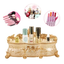 Multifunctional European Large Resin Cosmetic Storage Box Remote Controller Organizer Holder