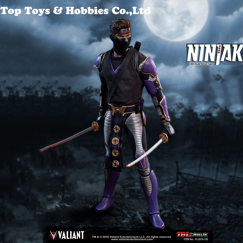 Full Set Action Figure 1/6th Scale TBLeague PL2019-130 Ninjak Male Action Figure