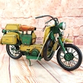 Moto Guzzi Motorcycle Model 100% Handmade Old Iron Sheet Model Indian 1:12 Retro Metal Guzzi Motor Kid