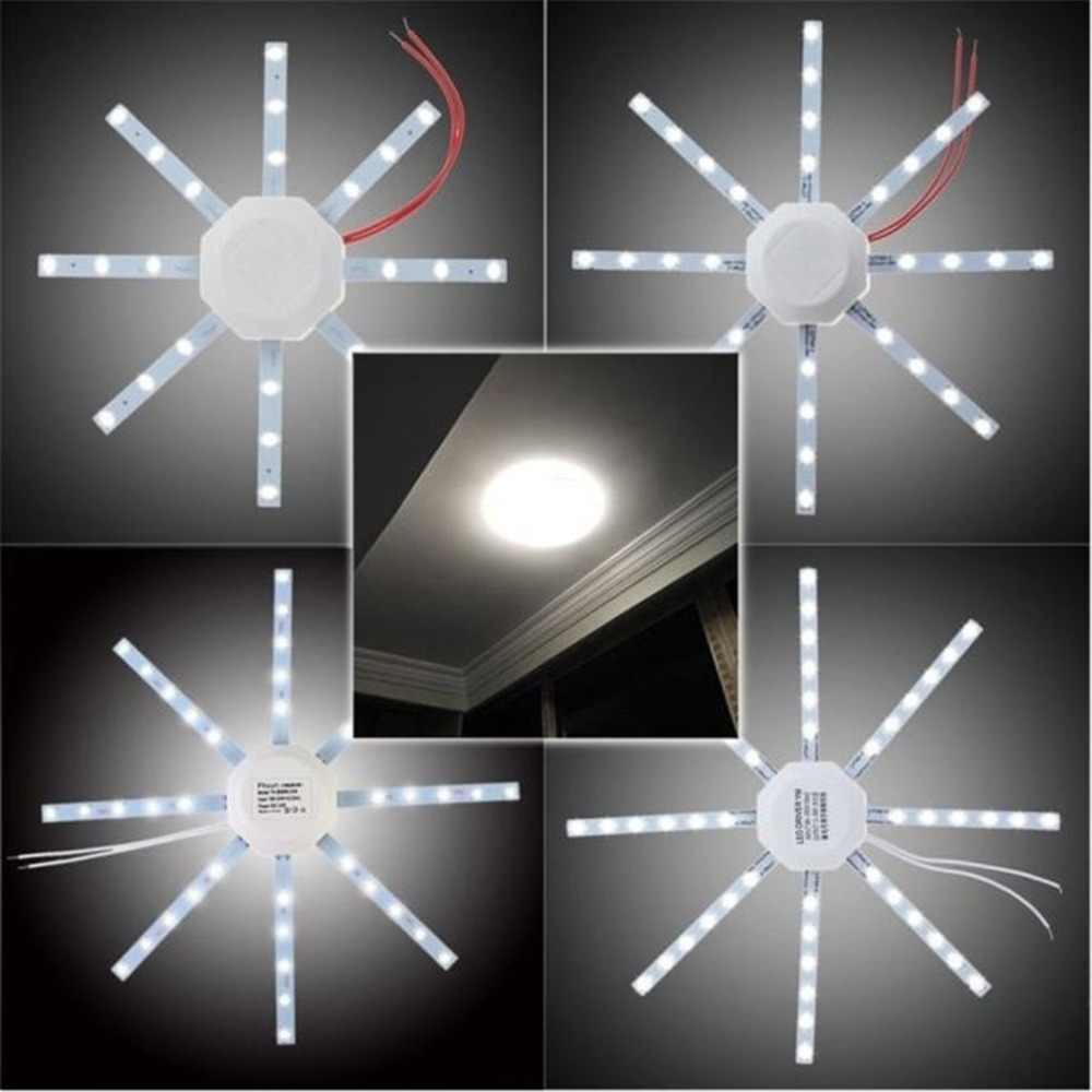Brand New  Type 12/16/20/24W LED  Ceiling Light Round Loop Tube SMD 5730 PCB Board Modified Source Octagon Star Bar