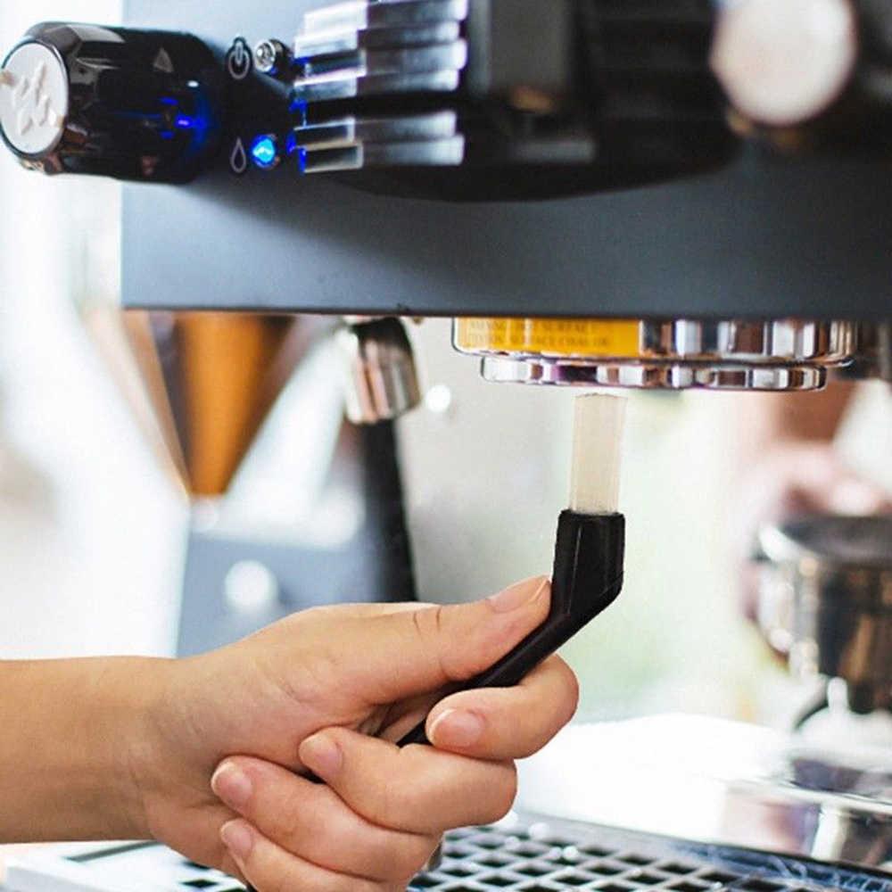 1pcs Coffee Machine Nylon Brushes Espresso Grinder Machine Group Head Bristle Cleaning Brush Household Kitchen Brush wholesale