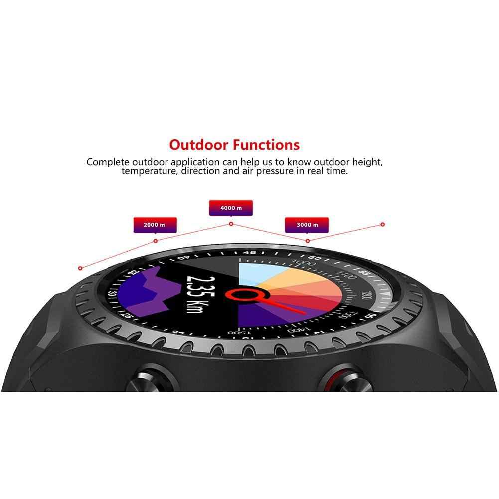 Новый IP65 Водонепроницаемый SMA-M1 gps Смарт Часы Bluetooth Вызов мульти-спортивный режим компас Высота Открытый 1,3 дюймов спортивные умные часы