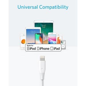 Image 2 - Anker Powerline Blitz Apple MFi Zertifiziert Blitz Kabel für iPhone XS/XS Max/XR/X/8/8 plus/7/7 Plus iPad Mini/Pro Air 2