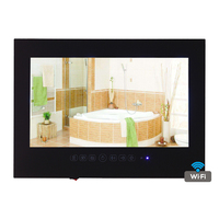 Free Shipping 19 Inch Android 4 0 Waterproof TV Mirror TV WIFI Full HD 1080P