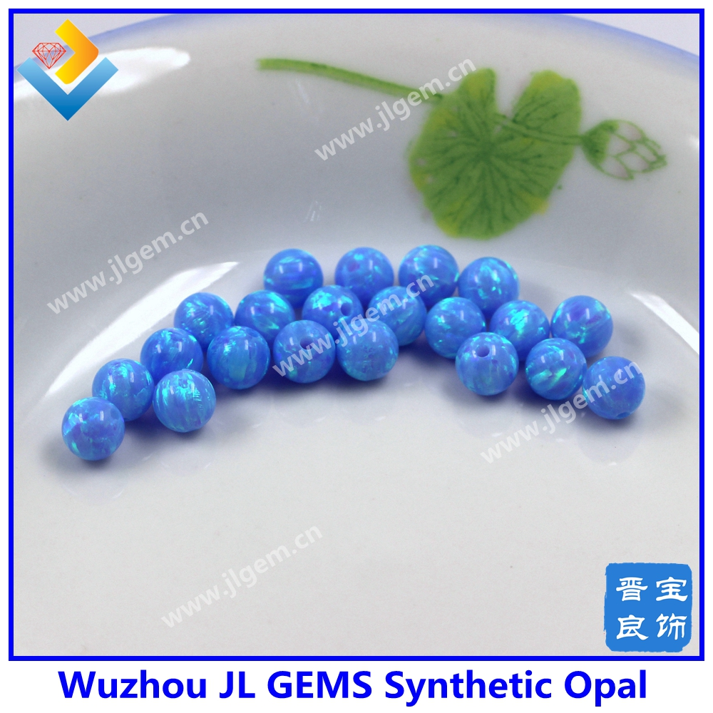 20pcs/bag Jewelry & Accessories wholesale Price Synthetic Opal Beads Balls For Making Balls Jewelry Fire Dark Blue/fire Light Blue/fire Light Green Fine Quality