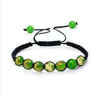 2019 Hot Handmade woven yoga bracelet energy bracelet