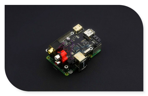 DFRobot 100% Genuine X600 Expansion Board for Raspberry Pi B+ / 2 Model B / 3 Model B / Raspberry pi Music Player-Modules