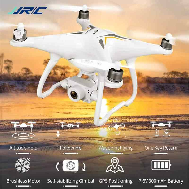 JJRC X6 Aircus 5G WIFI FPV Dubbele GPS 1080P Camera Zelf-Stabiliserende Gimbal Hoogte Modus RC Drone quadcopter RTF VS E58 E61 H117