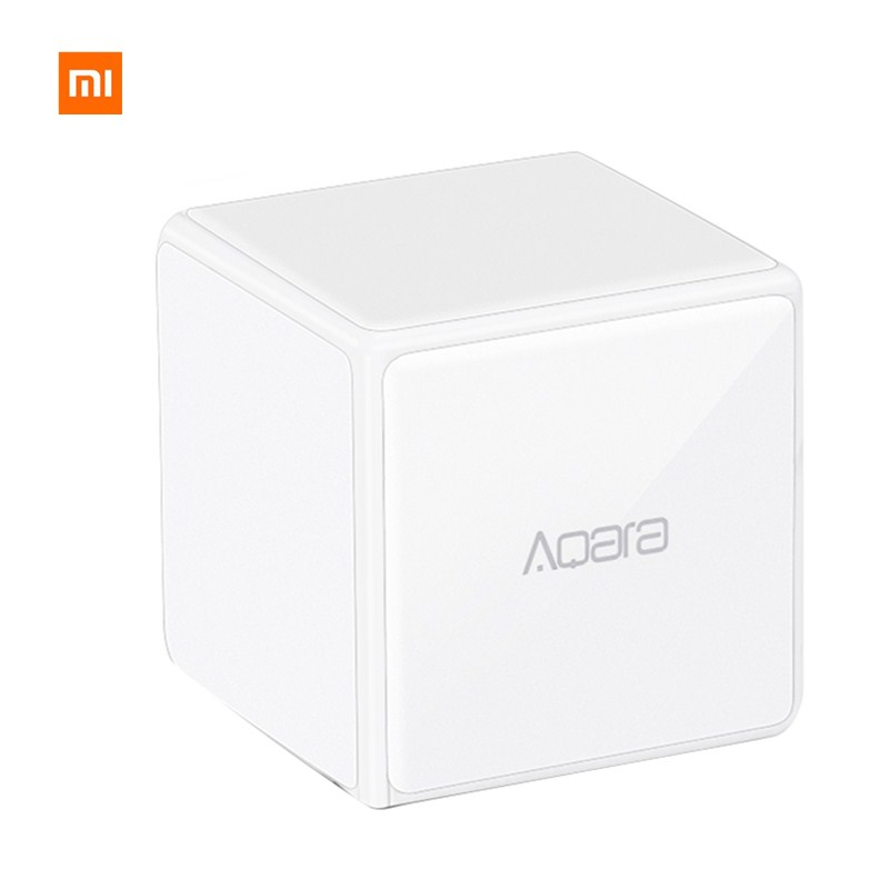 Xiaomi Aqara Cube Controller Zigbee Version Controlled by 6 Actions work with mi home app For Smart Home Device цены онлайн
