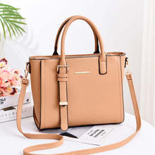 Women Leather Handbags Big Women Bag High Quality Casual Female Bags Trunk Tote Spanish Brand Shoulder Bag Ladies Large Bolsos