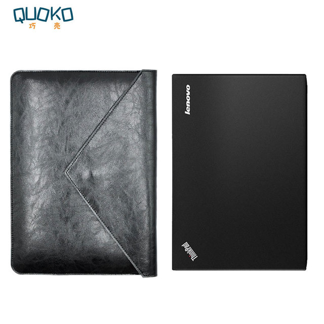 Laptop Bag Case Microfiber Leather Sleeve For Lenovo Thinkpad X1 Carbon 6th Gen 2018 Dual Pocket