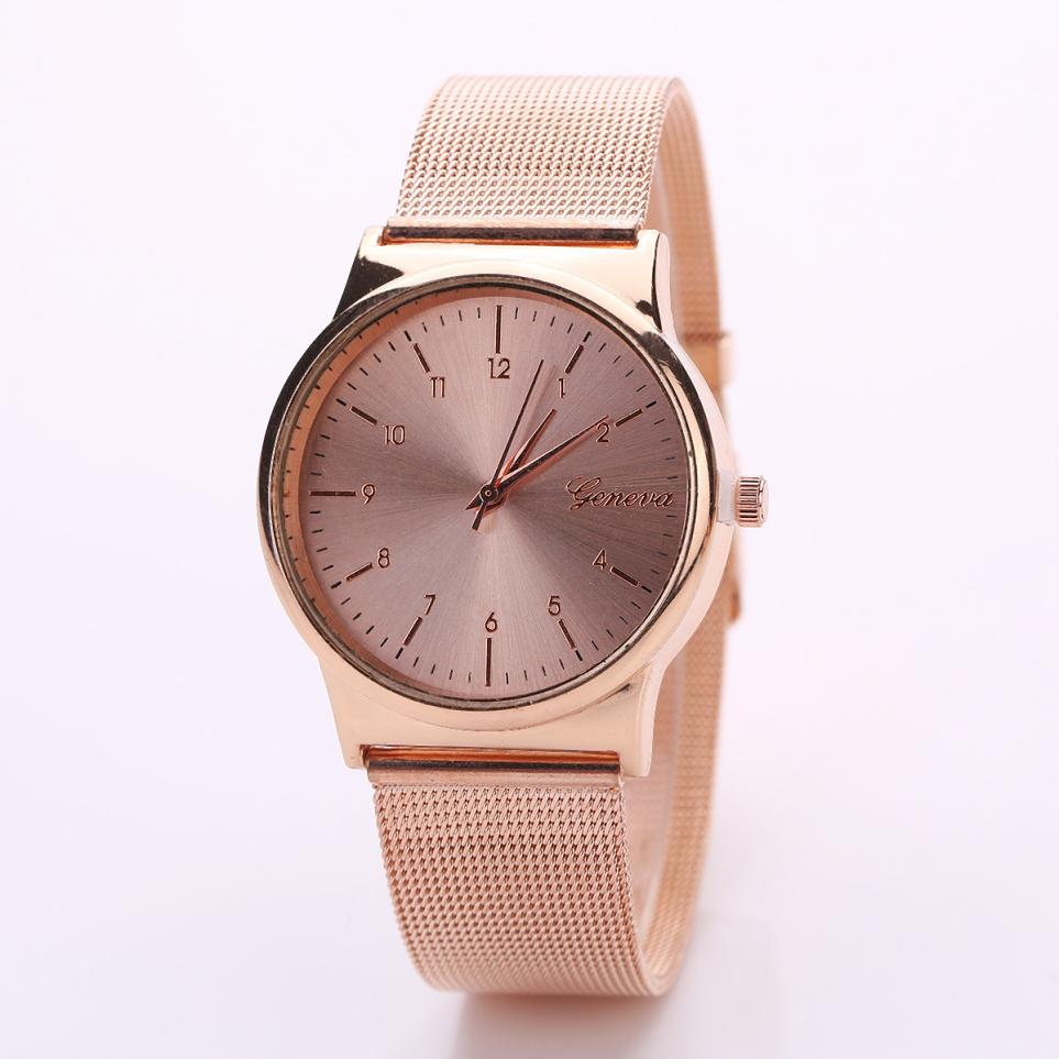 2018 new Fashion Womens Classic Quartz Stainless Steel Wrist Watch girls luxury elegant casual beautiful rose gold bracelet A65 2018 new Fashion Womens Classic Quartz Stainless Steel Wrist Watch girls luxury elegant casual beautiful rose gold bracelet A65