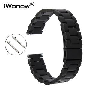 Quick Release Stainless Steel Watchband for Casio Citizen Seiko Men Women Watch Band Wrist Strap Belt 18mm 20mm 22mm 23mm 24mm(China)