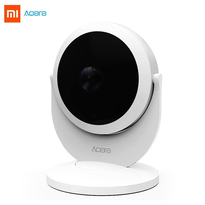 Xiaomi Aqara 1080P IP Camera 180 Degree Gateway Edition Function Night Vision Remote Viewing Cloud Storage ZigBee for Micro Card цены онлайн