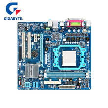 100% Gigabyte GA-M68M-S2 Motherboard DDR2 8GB VGA Socket AM2/AM2+/AM3 M68M S2 Desktop Mainboard Systemboard M68M-S2 Used стоимость