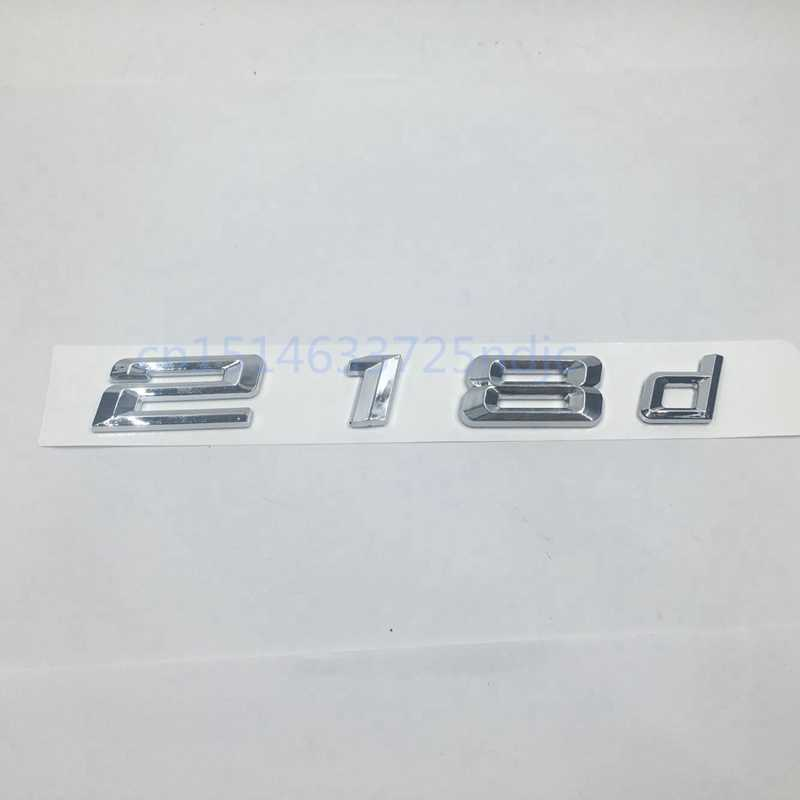 Voor Bmw Prestaties Sticker 218d 220d 240d Auto Achter Boot Logos Badge Emblem Decal