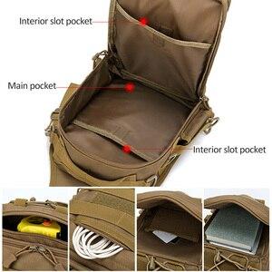 Image 2 - Mochila De Pesca bolsas de escalada mochila de hombro militar al aire libre, mochila para deporte, Camping, bolsa de pesca Molle Army XA36G