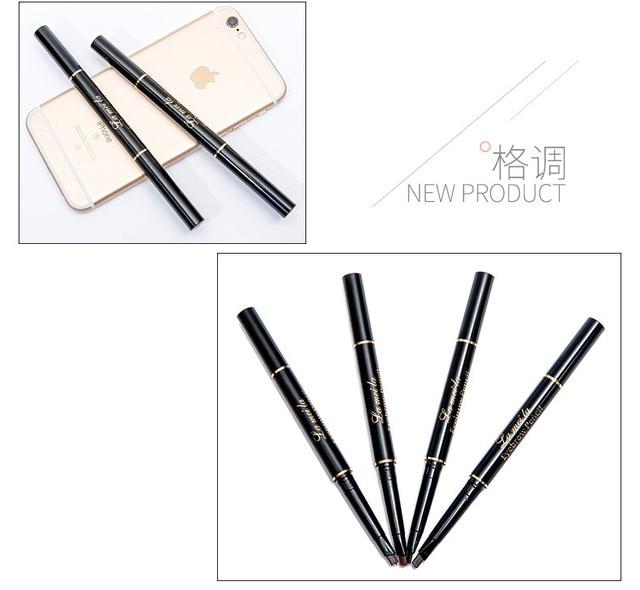 2020 New Brand Eye Brow Tint Cosmetics Natural Long Lasting Paint Tattoo Eyebrow Waterproof Black Brown Eyebrow Pencil Makeup 5