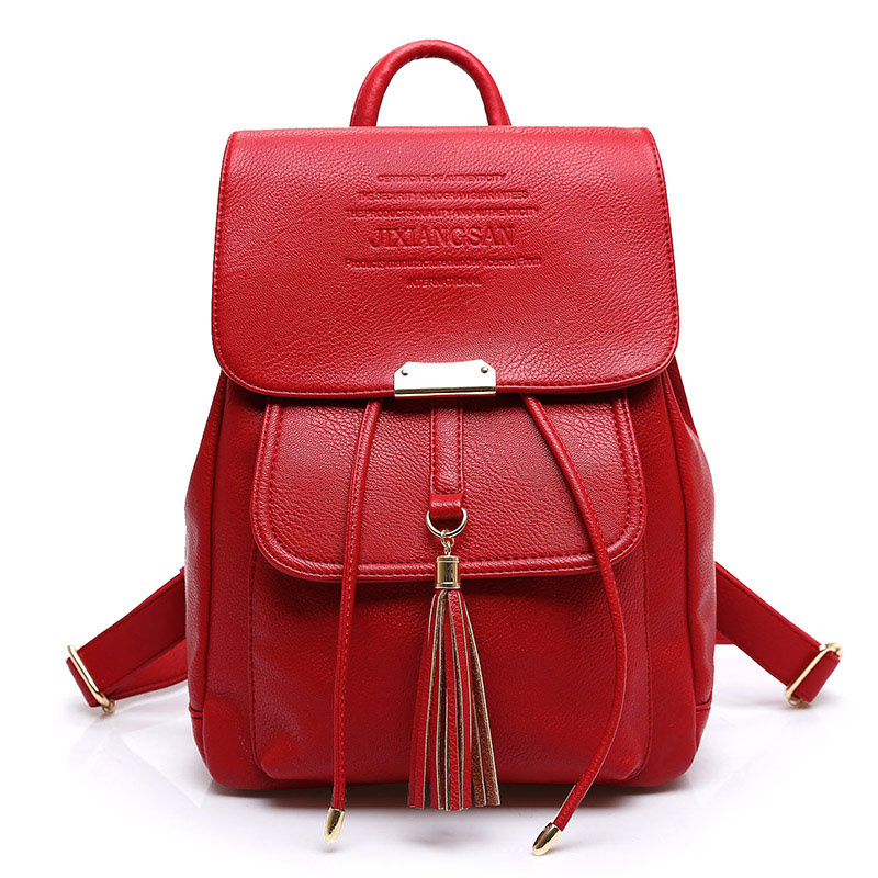 Women Backpacks Women s PU Leather Backpacks Female School Shoulder Bags Teenage Girls College Student Casual