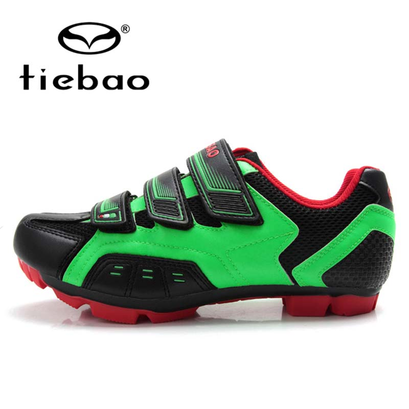 TIEBAO Professional MTB Mountain Bike Shoes Self-Locking Bicycle Cycling Shoes Men Women Nylon-fibreglass Sole Sport Shoes
