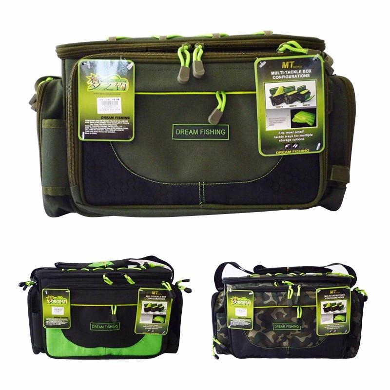 Three Colors Waterproof Fishing Bag 45x15x25cm Multifunctional Lure Bag <font><b>Carp</b></font> Fishing Package Bolsa De Pesca Fishing Rod Bags