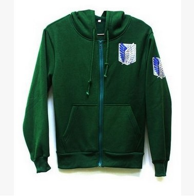 COSPLAY Anime Attack Giant Clothing / Investigation Corps / Hooded /COS Cartoon Sweater Coat