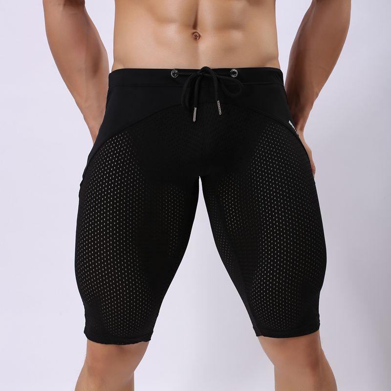 Surfing & Beach Shorts Für Männer Sexy Transparente Shorts - Sportbekleidung und Accessoires - Foto 4