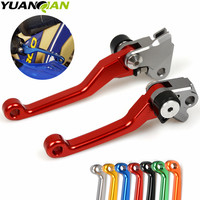 FOR YAMAHA SUZUKI Pivot Foldable Clutch Brake Lever Dirt Bike Off Road Motocross For YAMAHA YZ80