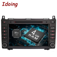Idoing Android6 0 2G 32G 8Core 2Din For MercedesBenz AB Class W169 Car Multimedia Player Steering