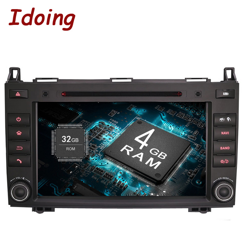 Idoing Android8 0 4G 32G 8Core 2Din For MercedesBenz AB Class W169 font b Car b