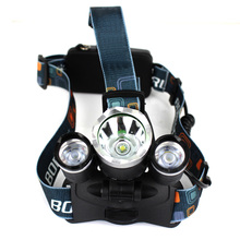 4000LM Zoomable 4 Modes Adjustable LED Head Torch For Cycling Camping Searching