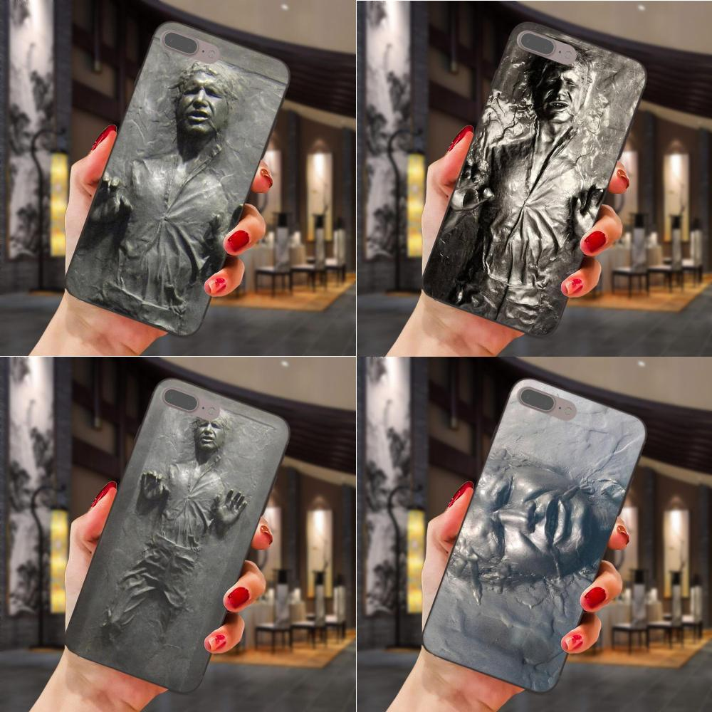Han Solo Carbonite Star Wars For Huawei Honor Enjoy Mate Note 6s 8 9 10 20 P20 P30 Lite Play Pro P smart Soft Cute Skin image