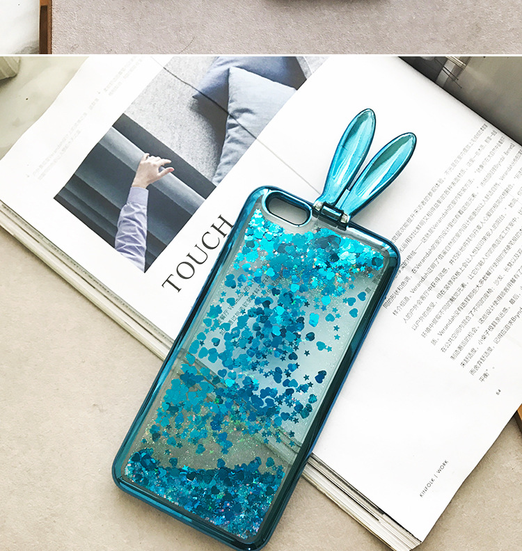 New sup silicon cover case for iphone 6 6Plus S 7 7 plus 8 8Plus X rabbit ear Supr cute phone cases coque funda