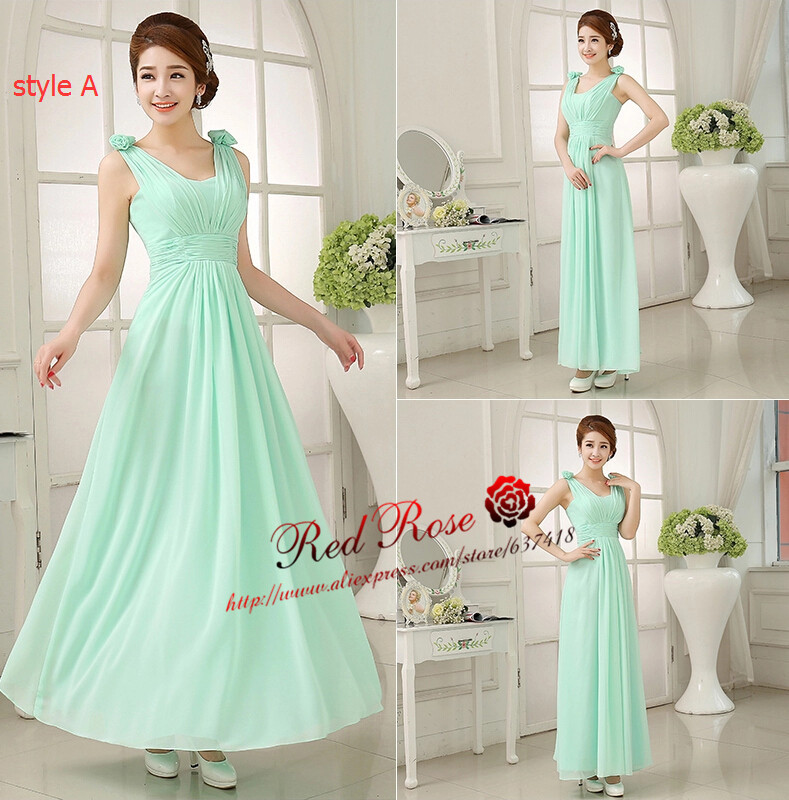 mint green bridesmaid dresses Picture - More Detailed Picture ...