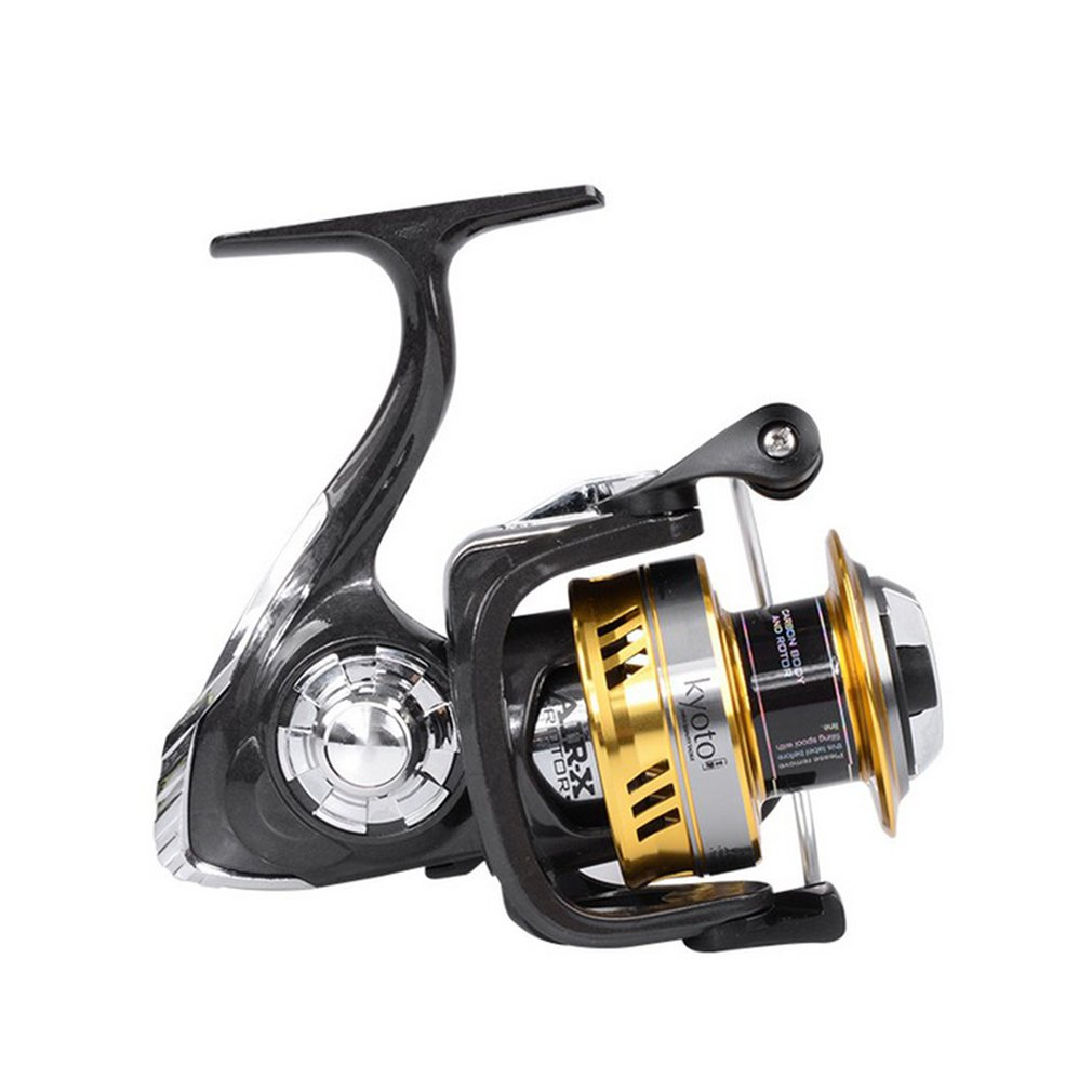 Powerful Bracke 9+1BB Anti-Slip Full Metal Fishing Spinning Reel Water Resistance Spinning Reel Fishing Reel For Water SeaPowerful Bracke 9+1BB Anti-Slip Full Metal Fishing Spinning Reel Water Resistance Spinning Reel Fishing Reel For Water Sea