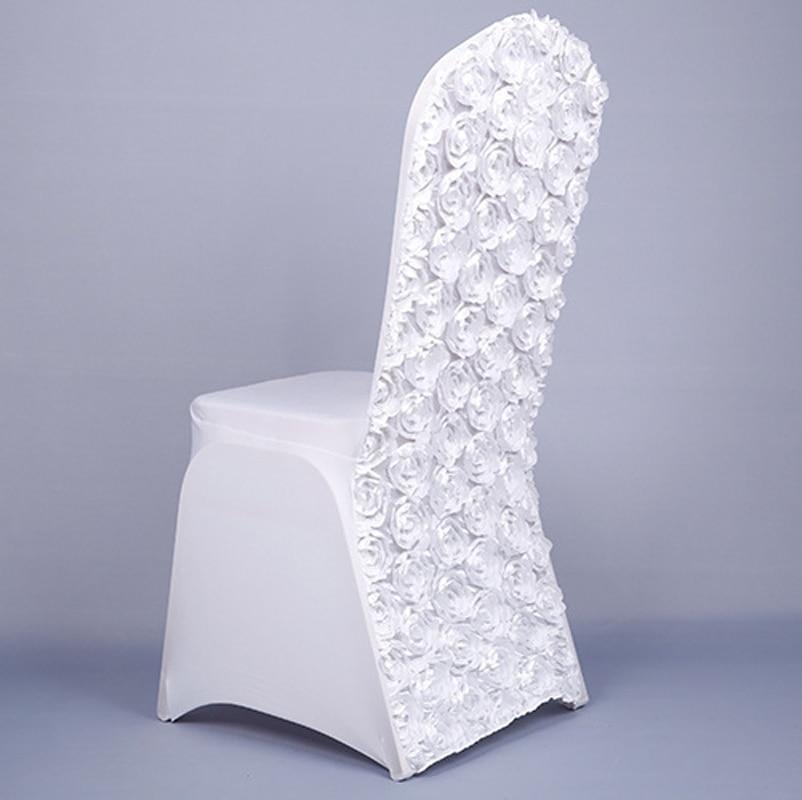 High Quality New Design Silk Rose Wedding Banquet Hotel Chair ...
