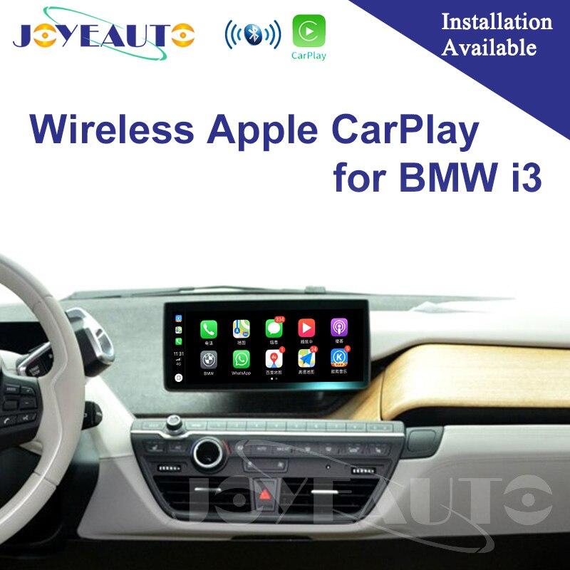 Joyeauto WIFI Carplay Android Espelhamento Sem Fio Da Apple suporte i3 2013-2017 para BMW NBT Retrofit Câmera Reversa