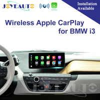 Joyeauto WIFI Drahtlose Apple Carplay Auto Spielen Android Auto Mirroring Retrofit NBT i3 2013-2017 für BMW unterstützung Reverse kamera