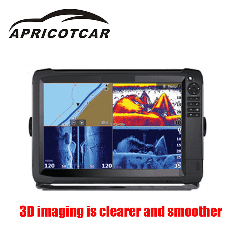 Appicotcar marine gps touch screen fish finder 3d radar for 3d fish finder