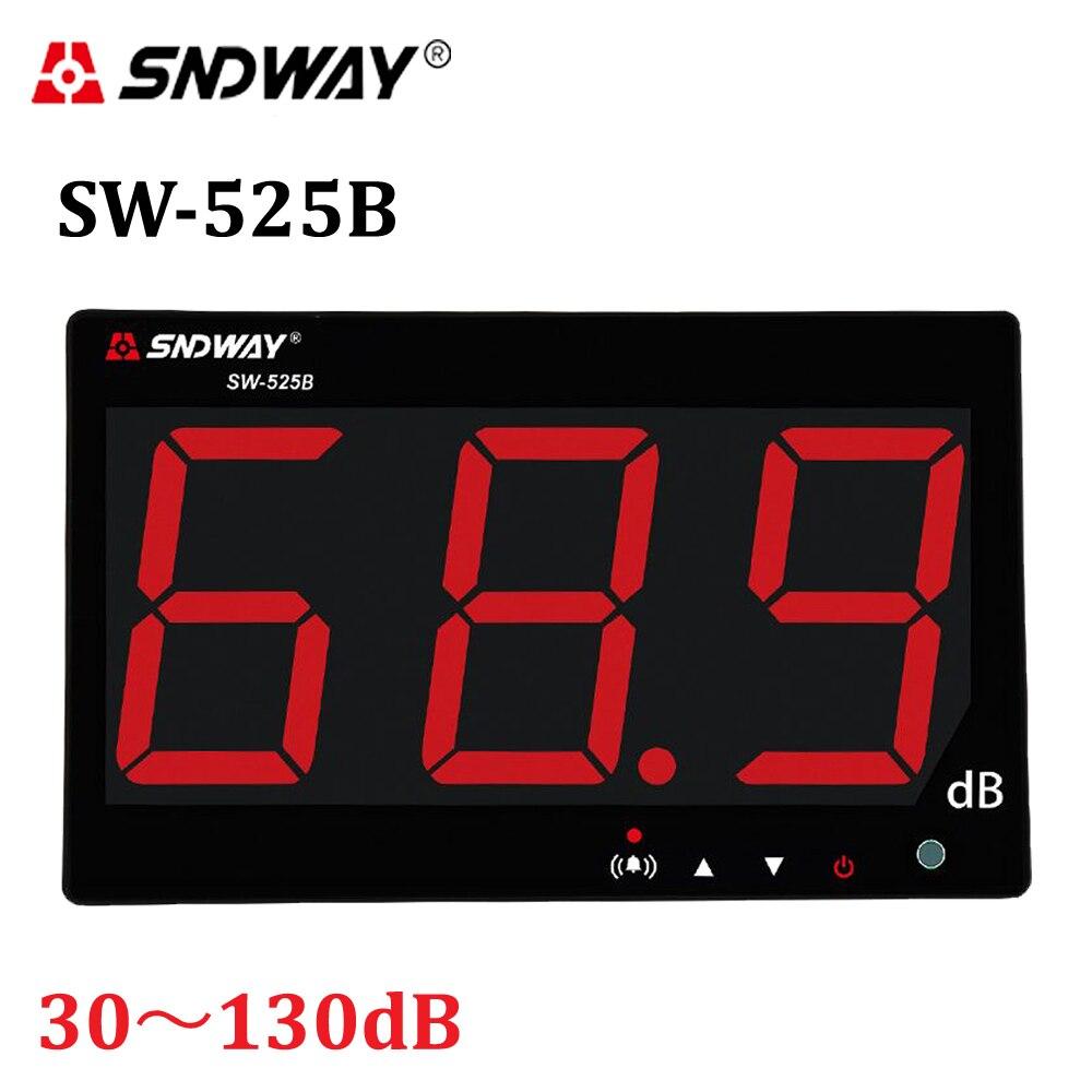 Digital Sound Level Metri 30-130dB I Dati al PC via USB Wall hanging tipo di Decibel di Rumore Monitoraggio Metro Tester Diagnostico- strumenti