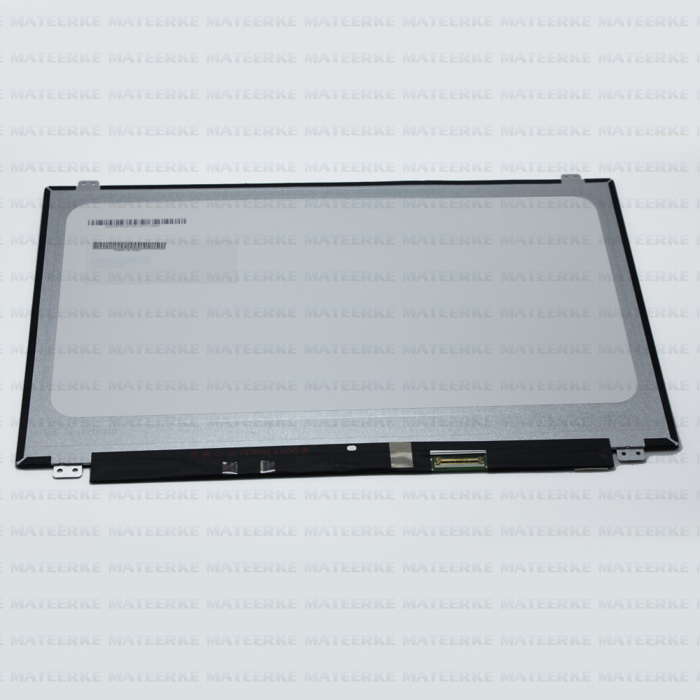 New 15.6 LCD Screen B156XTK01.0 with Touch Glass For DELL 0JJ45K Assembly Replacement,1366X768 touch screen replacement module for nds lite