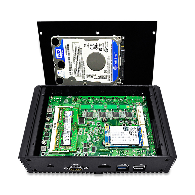 Q310G4/Q330G4 Core i3 безвентиляторный 4 Lan pfSense безопасности шлюз устройства, поддержка AES-NI, серийный, как брандмауэр, LAN или WAN маршрутизатор 3