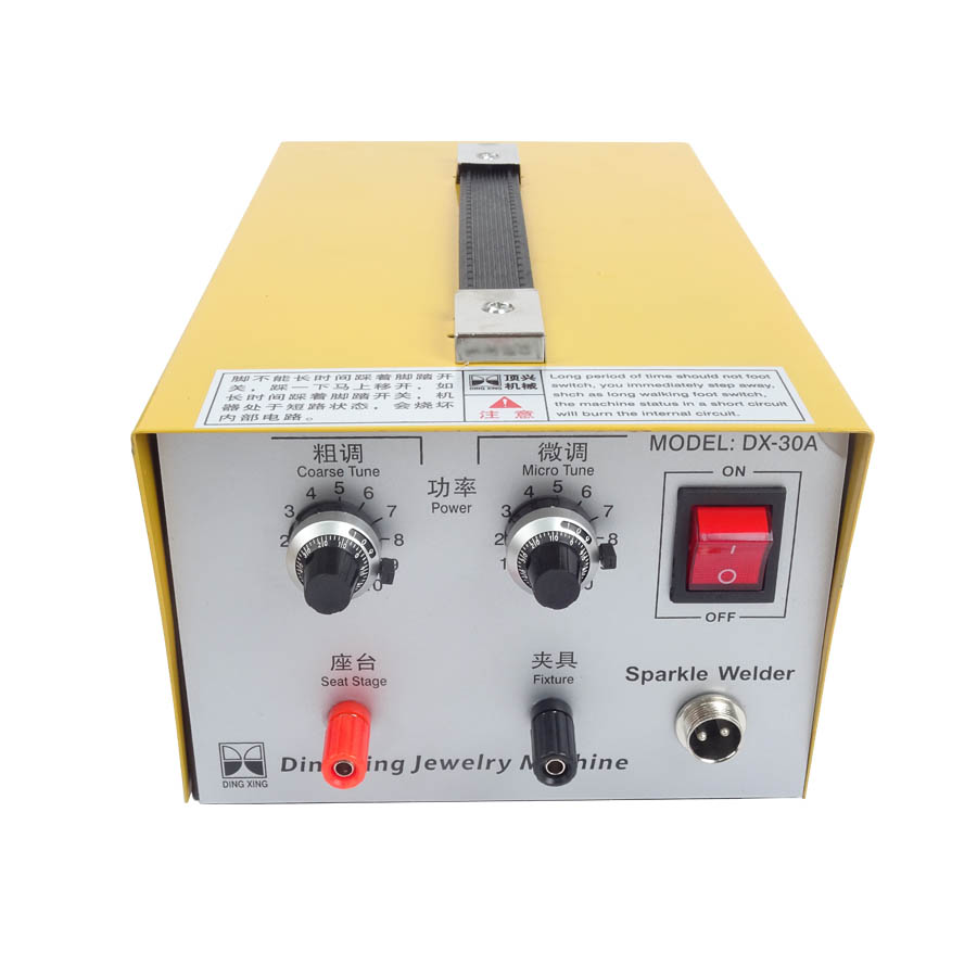 DX-30A Golden Welding Laser Spot Welding Good Pulse Spot Welder 400W,110V,30A Jewelry Welding Machine Gold Silver Platinum цена и фото