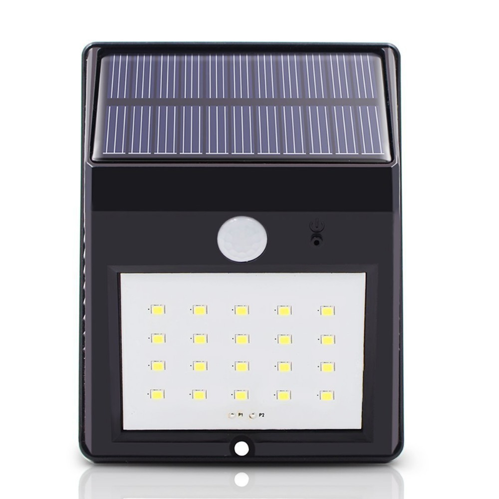 Inventory Clearance Solar Motion Sensor 8/20LED Outdoor Lamp Waterproof Wall Light (Products Battery Need To Be Replaced )
