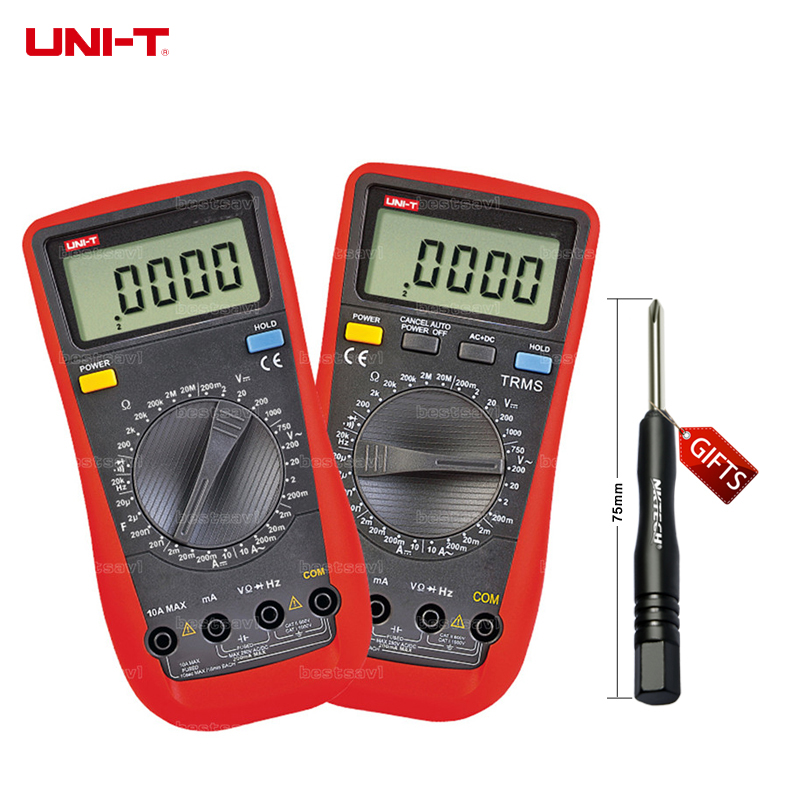 UNI-T UT151F High Reliability Handheld Digital Multimeter Professional Electrical Handheld Tester LCR Meter Free Shipping brand new professional digital lux meter digital light meter lx1010b 100000 lux original retail package free shipping